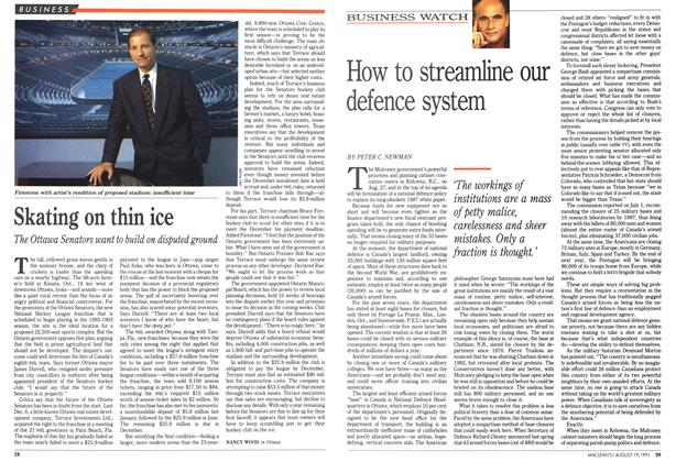 Article Preview: How to streamline our defence system, August 1991 | Maclean's