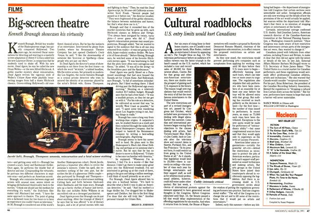 Article Preview: Big-screen theatre, August 1991 | Maclean's