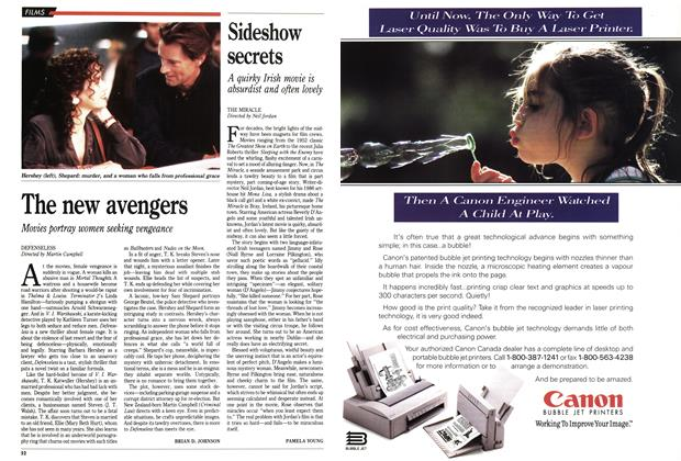 Article Preview: Sideshow secrets, September 1991 | Maclean's