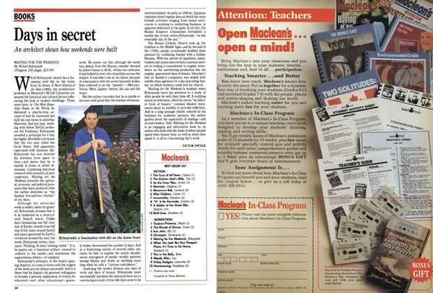 Article Preview: Maclean's BEST-SELLER LIST, September 1991 | Maclean's