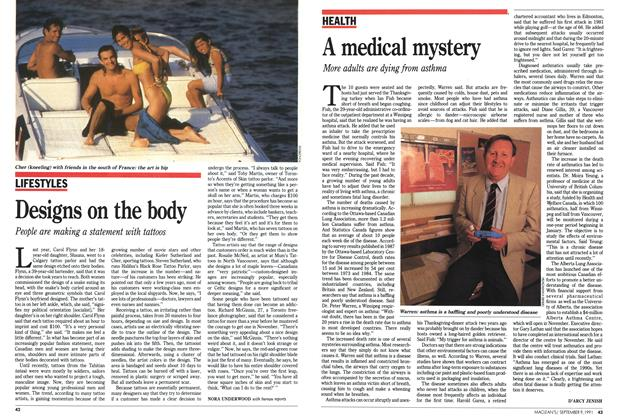 Article Preview: A medical mystery, September 1991 | Maclean's