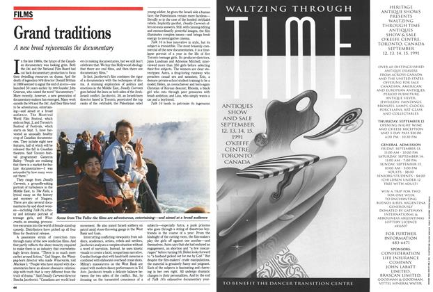 Article Preview: Grand traditions, September 1991 | Maclean's
