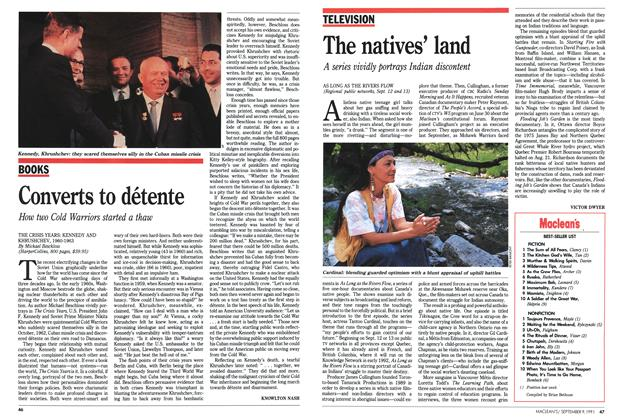 Article Preview: The natives' land, September 1991 | Maclean's