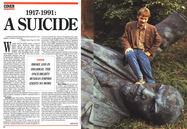 Article Preview: 1917-1991: A SUICIDE, September 1991 | Maclean's