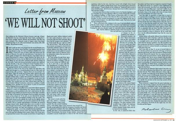 Article Preview: 'WE WILL NOT SHOOT', September 1991 | Maclean's