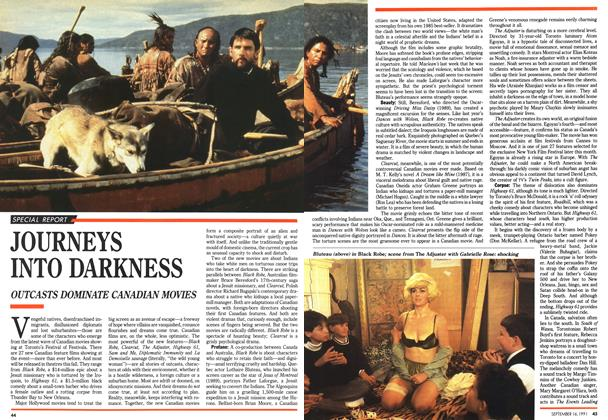 Article Preview: JOURNEYS INTO DARKNESS, September 1991 | Maclean's
