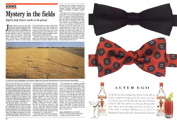 Article Preview: Mystery in the fields, September 1991 | Maclean's