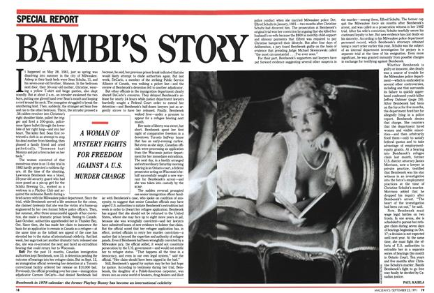 Article Preview: BAMBI'S STORY, September 1991 | Maclean's