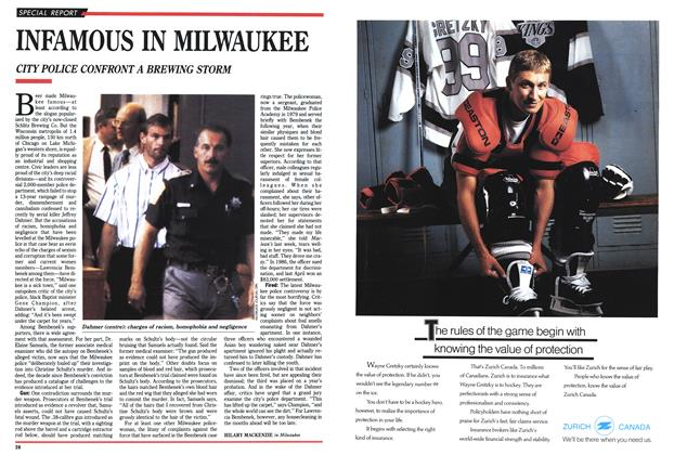 Article Preview: INFAMOUS IN MILWAUKEE, September 1991 | Maclean's