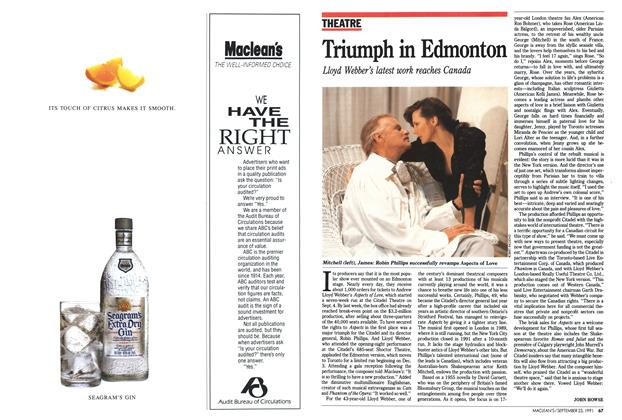 Article Preview: Triumph in Edmonton, September 1991 | Maclean's