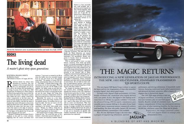 Article Preview: The living dead, September 1991 | Maclean's