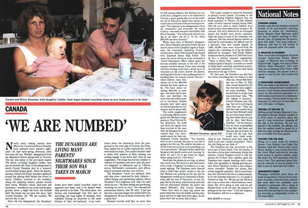 Article Preview: 'WE ARE NUMBED', September 1991 | Maclean's