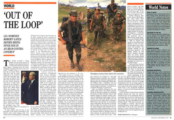 Article Preview: 'OUT OF THE LOOP', September 1991 | Maclean's