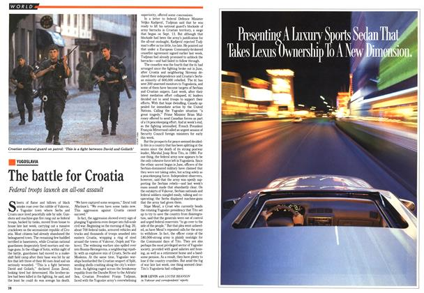 Article Preview: The battle for Croatia, September 1991 | Maclean's