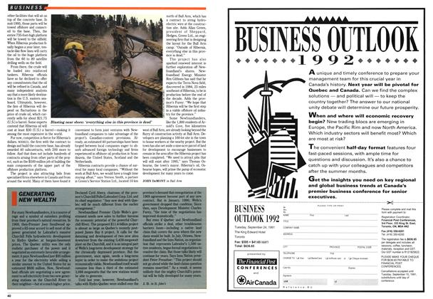 Article Preview: GENERATING NEW WEALTH, September 1991 | Maclean's
