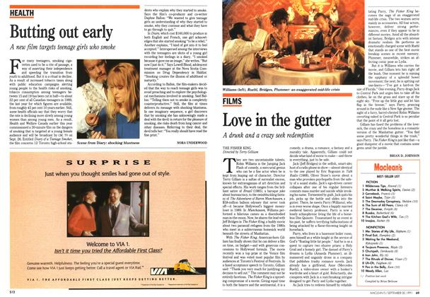 Article Preview: Love in the gutter, September 1991 | Maclean's