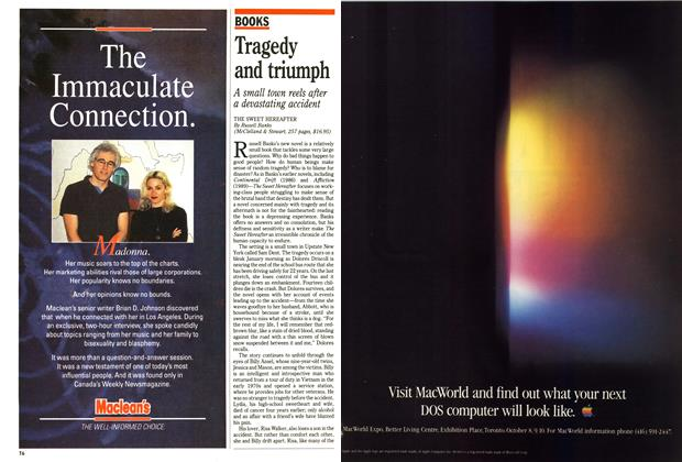 Article Preview: Tragedy and triumph, October 1991 | Maclean's