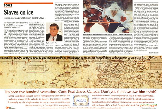 Article Preview: Slaves on ice, October 1991 | Maclean's