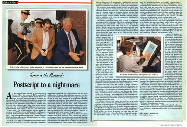 Article Preview: Postscript to a nightmare, October 1991 | Maclean's