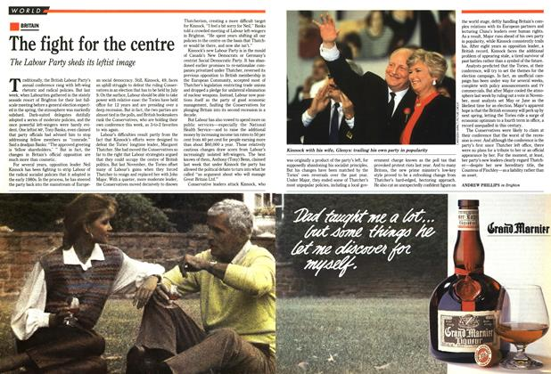 Article Preview: The fight for the centre, October 1991 | Maclean's