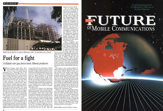 Article Preview: Fuel for a fight, October 1991 | Maclean's