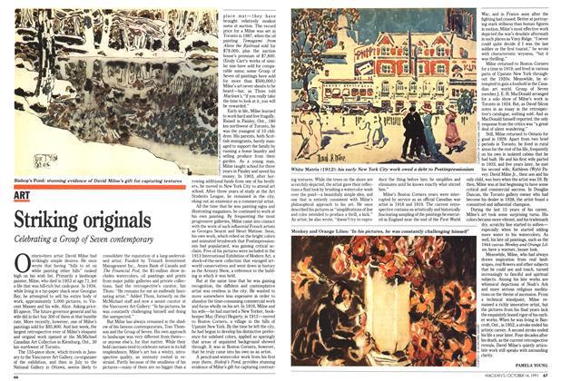 Article Preview: Striking originals, October 1991   Maclean's