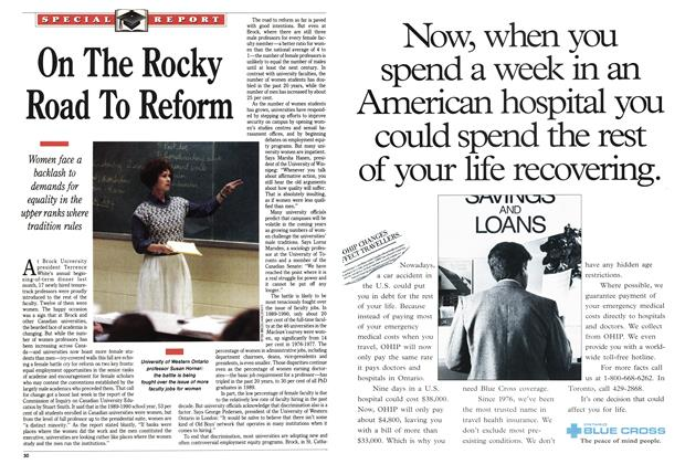 Article Preview: On The Rocky Road To Reform, October 1991 | Maclean's
