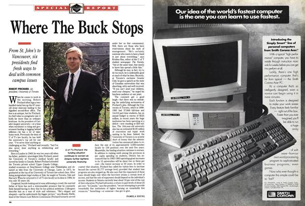 Article Preview: Where The Buck Stops, October 1991 | Maclean's