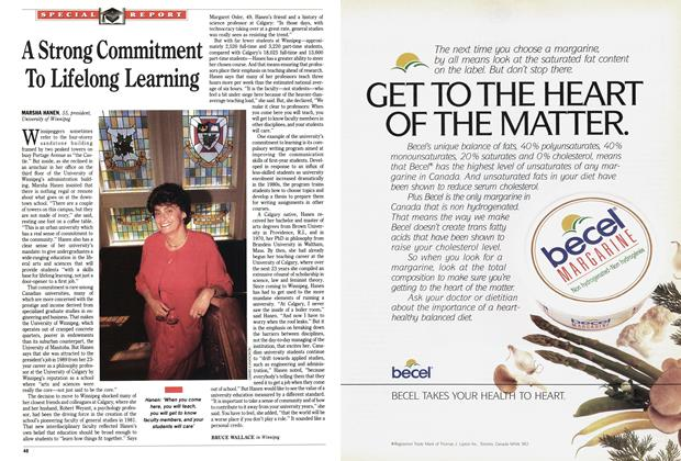Article Preview: A Strong Commitment To Lifelong Learning, October 1991 | Maclean's