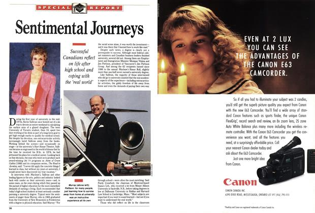 Article Preview: Sentimental Journeys, October 1991 | Maclean's