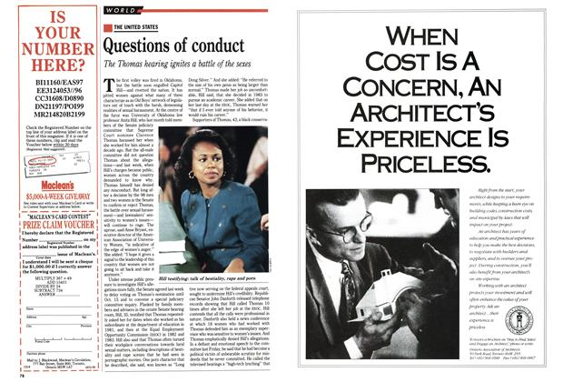 Article Preview: Questions of conduct, October 1991 | Maclean's