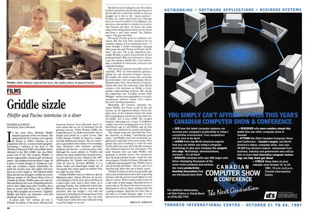 Article Preview: Griddle sizzle, October 1991 | Maclean's