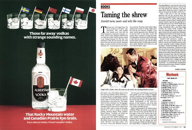 Article Preview: Taming the shrew, October 1991 | Maclean's