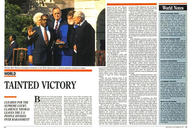 Article Preview: TAINTED VICTORY, October 1991 | Maclean's