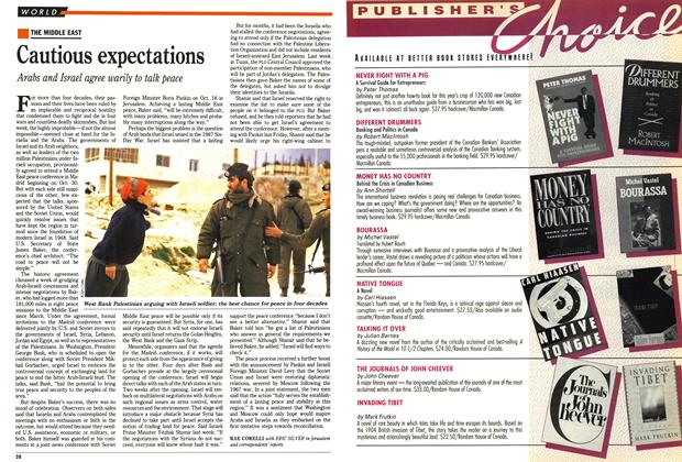 Article Preview: Cautious expectations, October 1991 | Maclean's