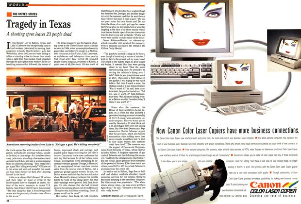 Article Preview: Tragedy in Texas, October 1991 | Maclean's