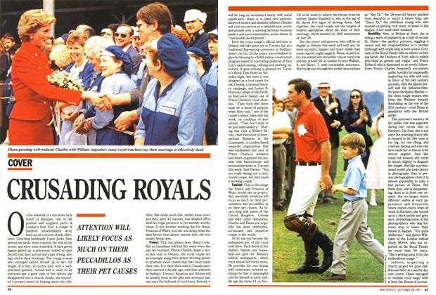 Article Preview: CRUSADING ROYALS, October 1991 | Maclean's