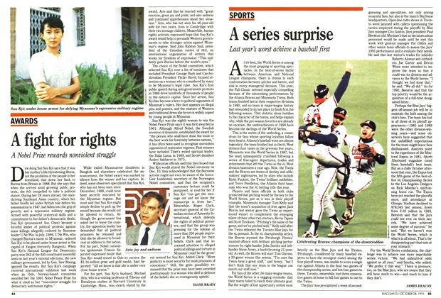 Article Preview: A fight for rights, October 1991 | Maclean's
