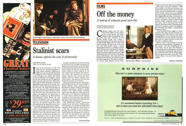 Article Preview: Stalinist scars, October 1991 | Maclean's