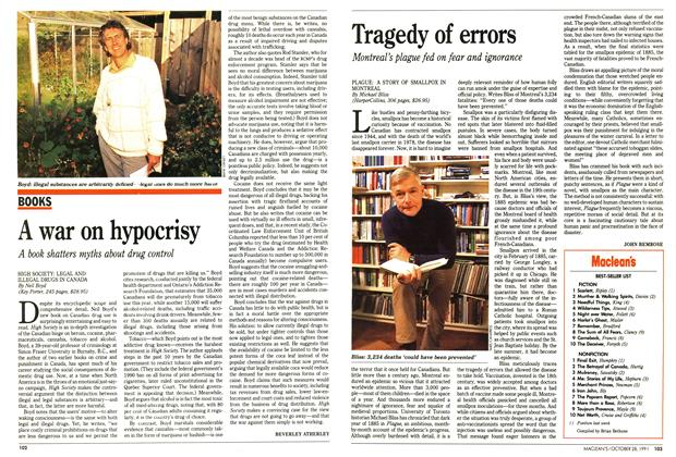 Article Preview: Tragedy of errors, October 1991 | Maclean's