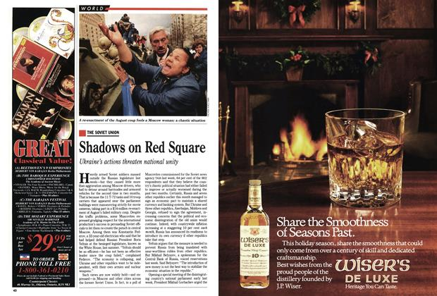 Article Preview: Shadows on Red Square, November 1991 | Maclean's