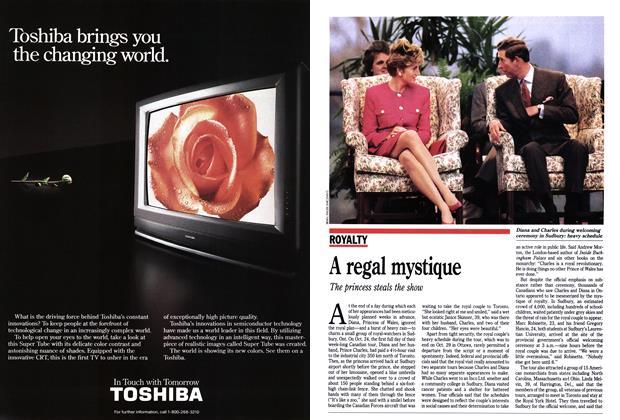 Article Preview: A regal mystique, November 1991 | Maclean's