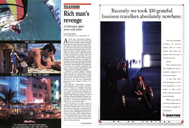 Article Preview: Rich man's revenge, November 1991 | Maclean's