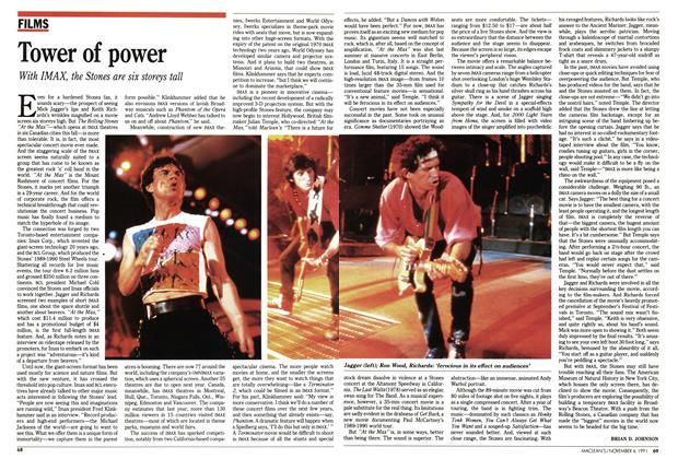 Article Preview: Tower of power, November 1991 | Maclean's