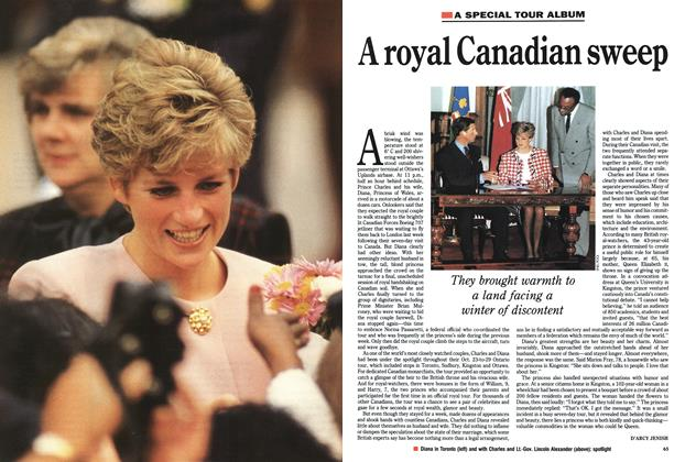Article Preview: A royal Canadian sweep, November 1991 | Maclean's