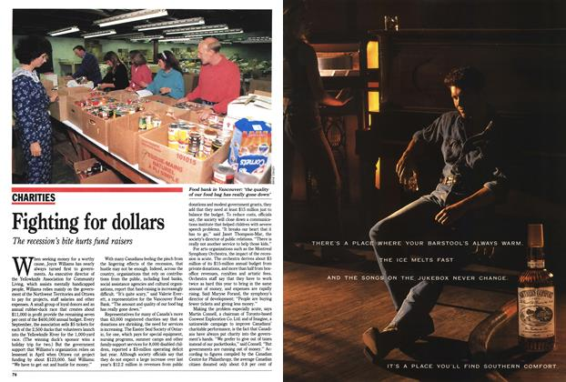 Article Preview: Fighting for dollars, November 1991 | Maclean's