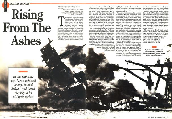 Article Preview: Rising From The Ashes, November 1991 | Maclean's