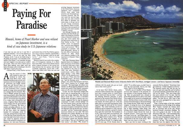 Article Preview: Paying For Paradise, November 1991 | Maclean's
