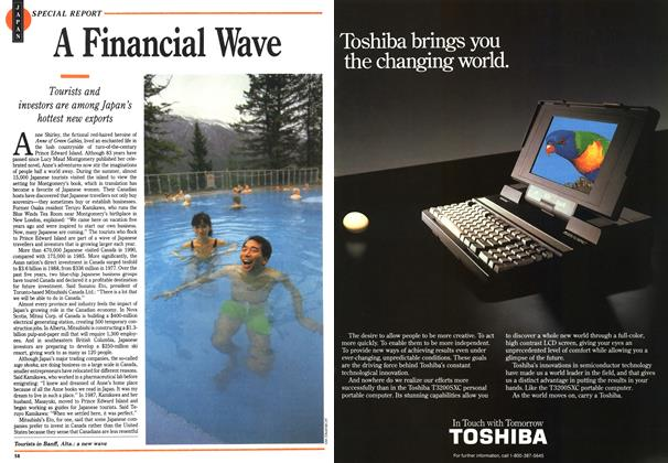 Article Preview: A Financial Wave, November 1991 | Maclean's