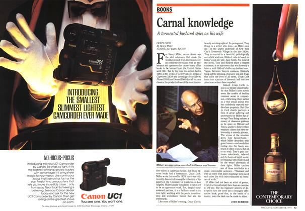 Article Preview: Carnal knowledge, November 1991 | Maclean's